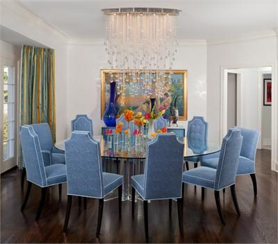 Transitional Dining Room By Guillaume Gentet Bold Dining Room
