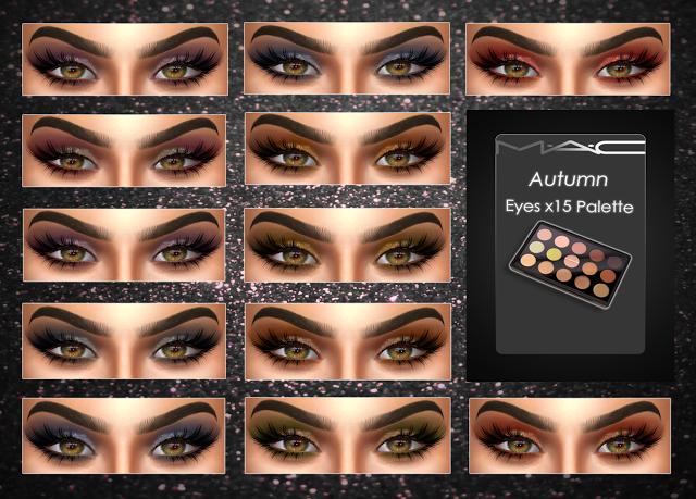 Sims 4 CC's The Best Eyeshadow by Mac Cosimetics The