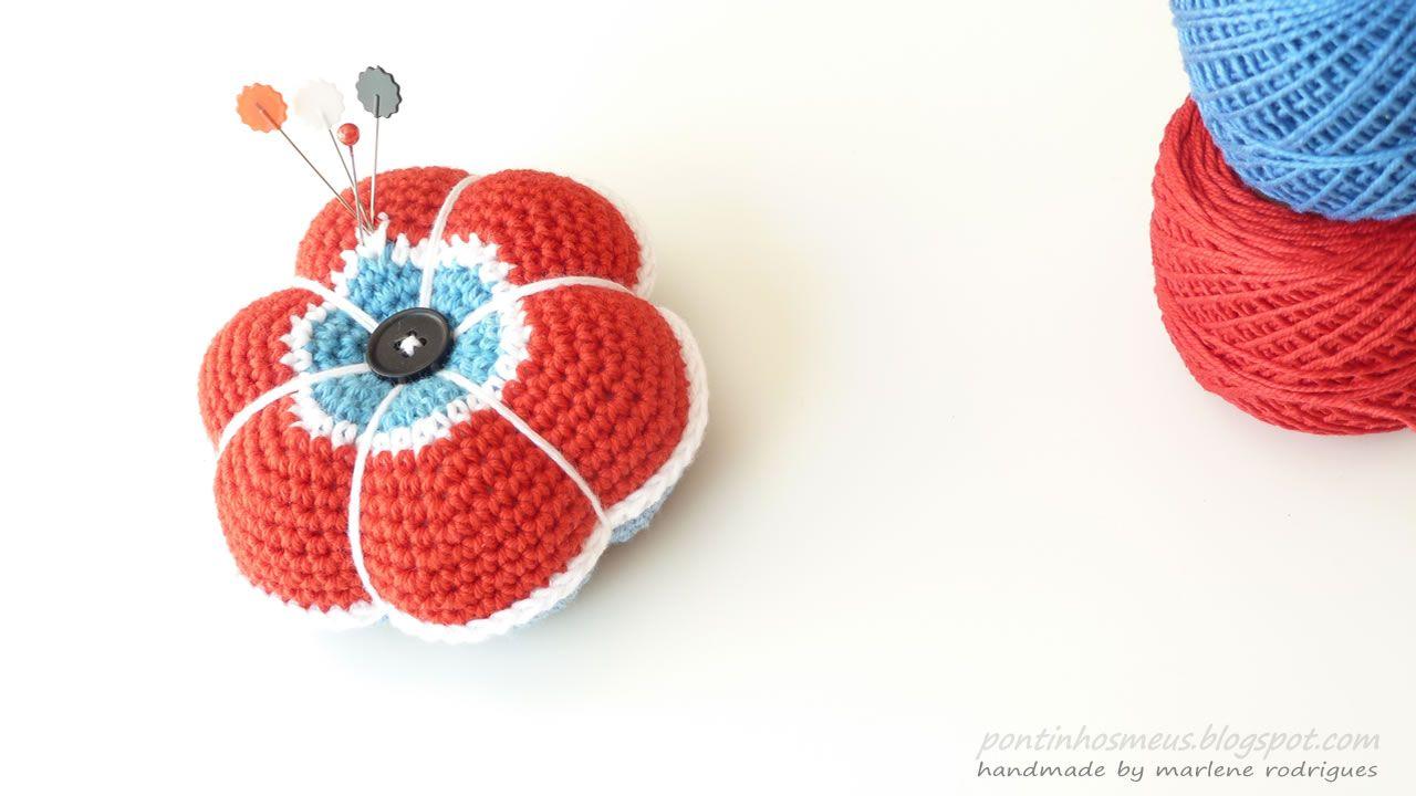 pontinhos meus: Alfineteiro - Pincushion | pincushions | Pinterest ...