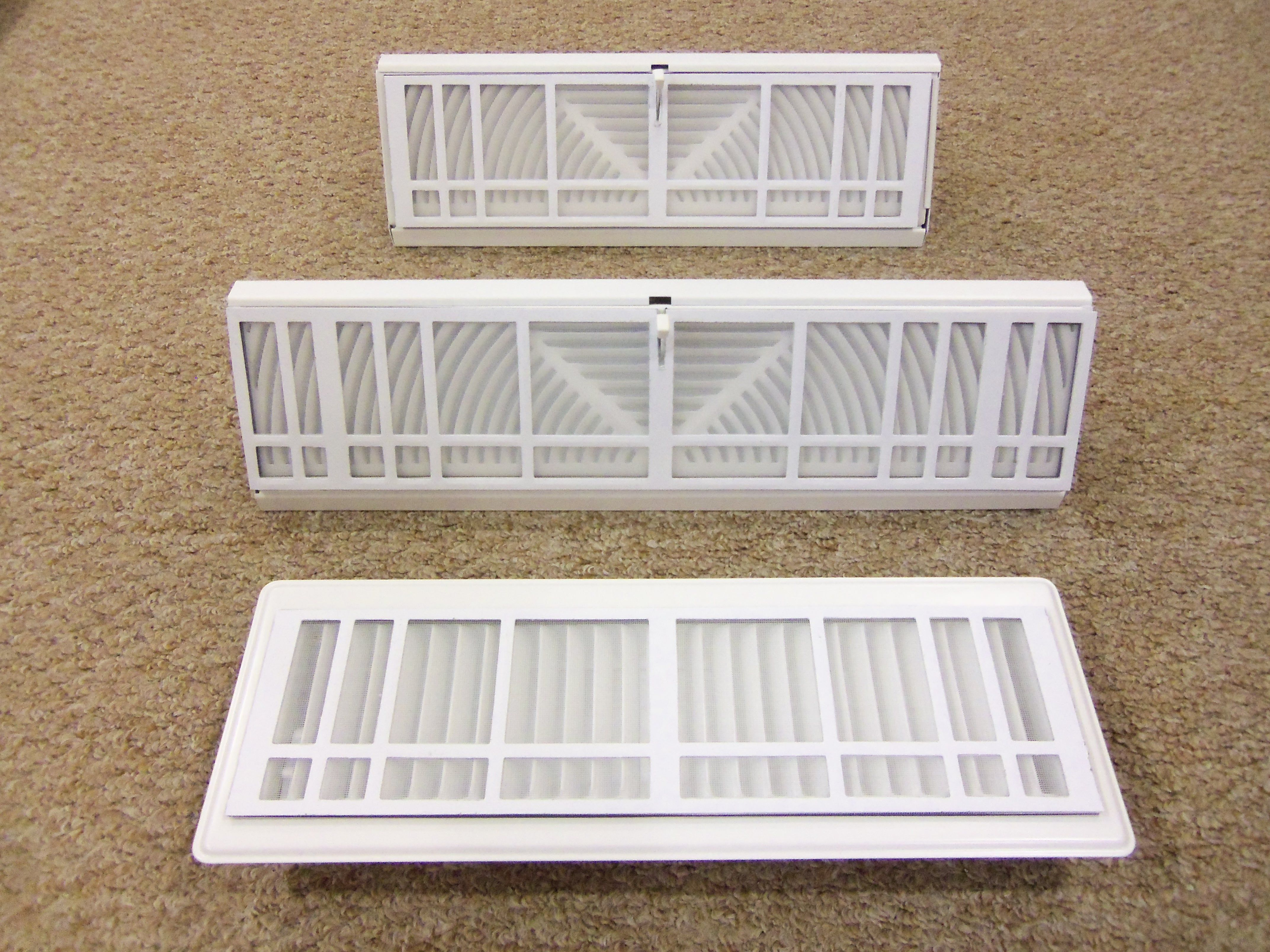 """The Vent Filter """"Filter"""" is a soft PVC grid"""
