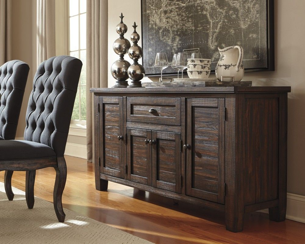 Get Your Trudell   Golden Brown   Dining Room Server At Furniture Country, Gainesville  FL Furniture Store.