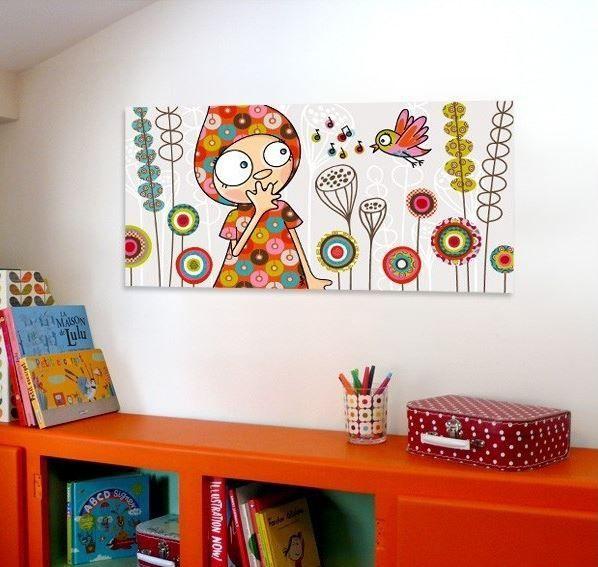 tableau chambre fille originale tavla serier. Black Bedroom Furniture Sets. Home Design Ideas
