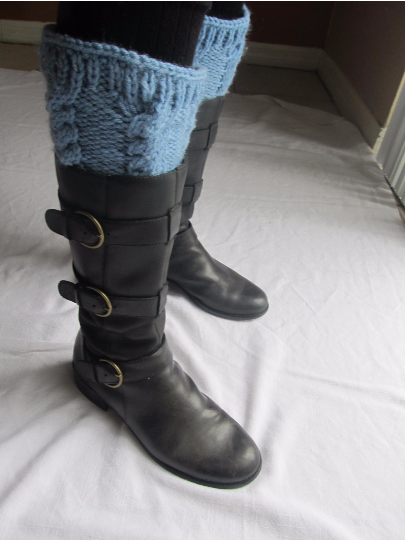 8 Quick Free Knitted Boot Cuffs Knitting Patterns Cable And