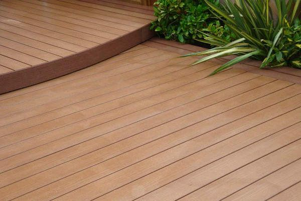 Superb Wear Resistance Outdoor Wooden Decking,pvc Fence And Wood Redwood Decking  Price,wood Plastic