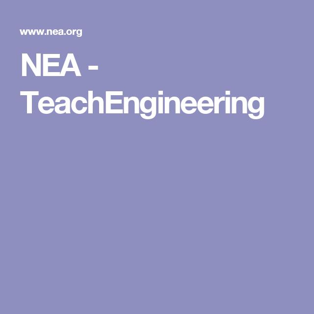 NEA - TeachEngineering