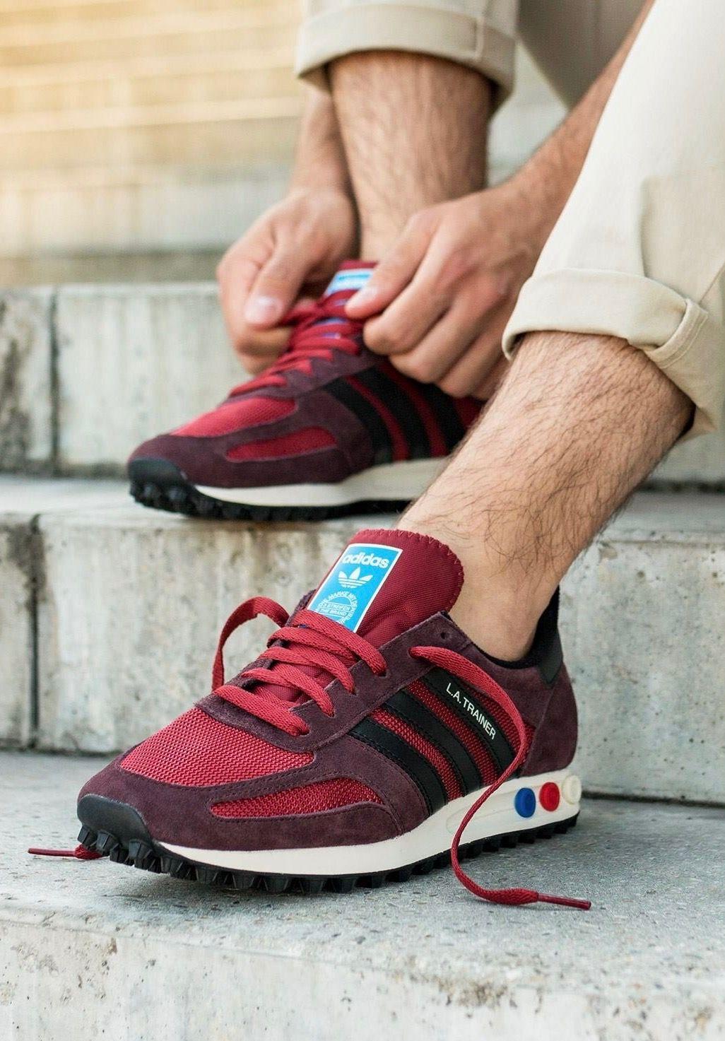 adidas Originals LA Trainer | Mens fashion casual, Sneakers