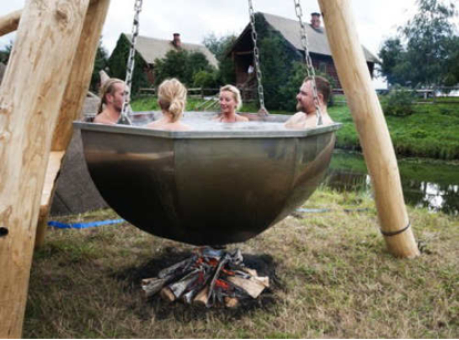 3 Unique Outdoor Hot Tubs You Can Take on a Camping Trip - Big ...