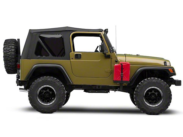 Morryde Jeep Wrangler Frame Side Mount Jerry Can Holder W Short Tray Jp54 006 87 06 Jeep Wrangler Yj Tj Jeep Wrangler Tj Jeep Wrangler Jeep