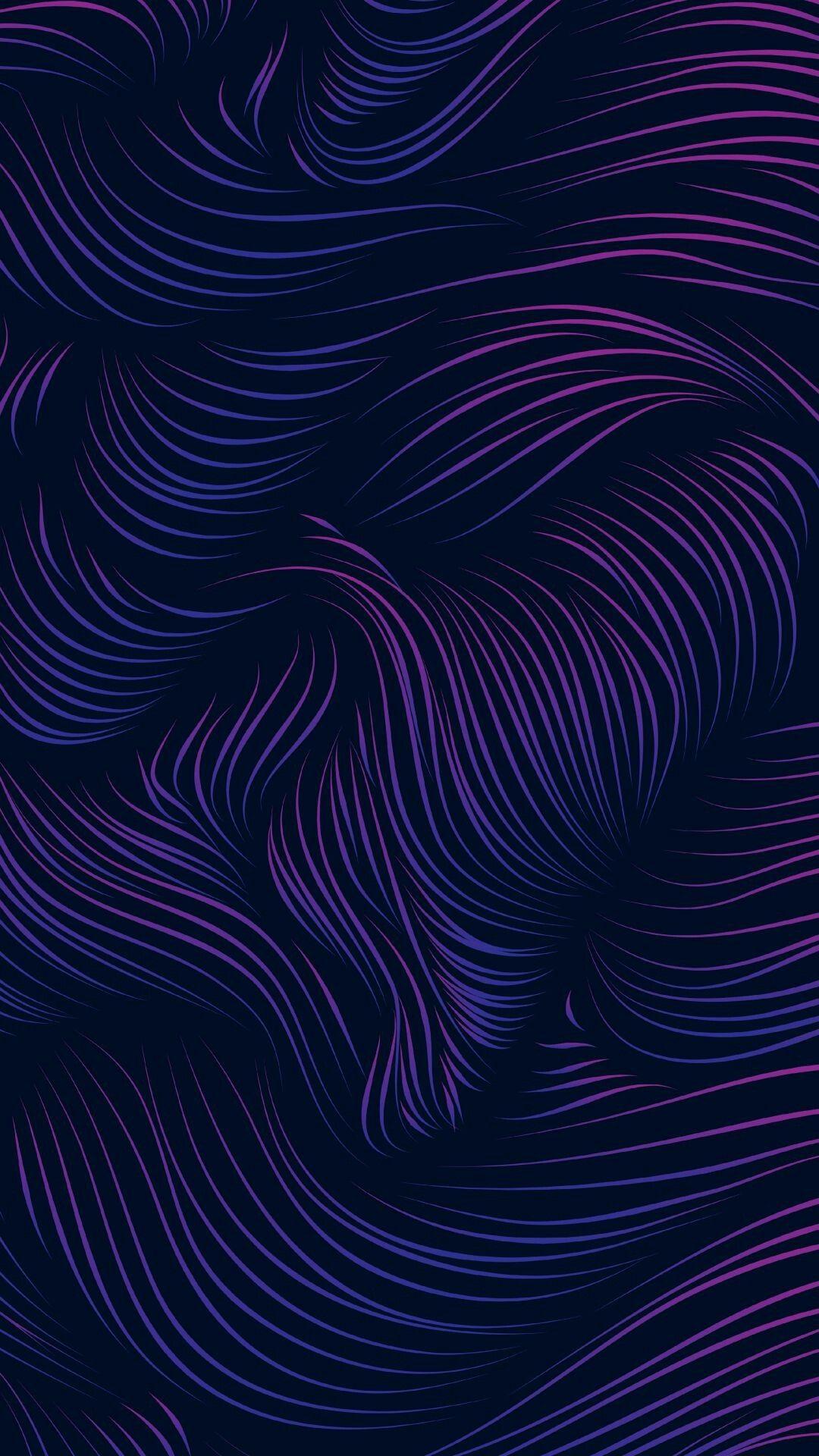 iphone wallpaper background purple pink swirl dark
