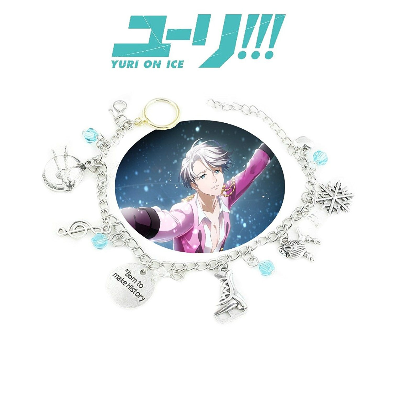 Yuri on Ice Yuri and Victor Ring Necklace 2 Rings Gift