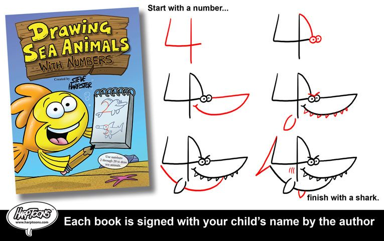 19+ Drawing animals with numbers ideas