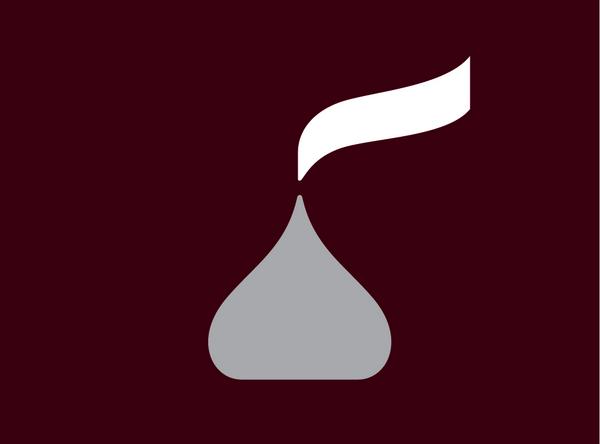 New Hershey Logo Looks Like The Poo Emoji Hershey Logo Graphic Design Logo Logo Redesign