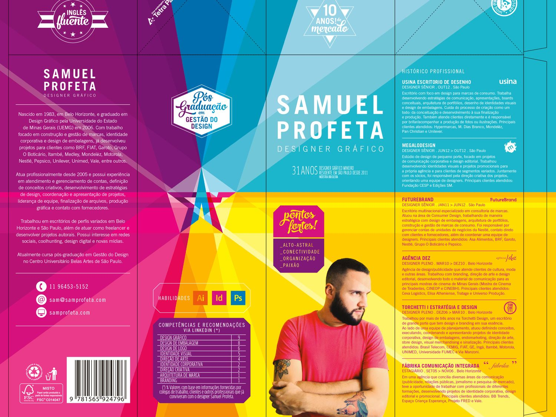 Netloid Creative Resume By Graphic Designer Samuel Profeta Jpeg 1500 1125 Brosur