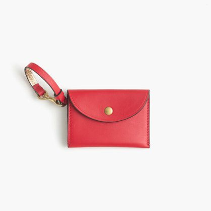 J.Crew+-+Coin+purse+in+Italian+leather
