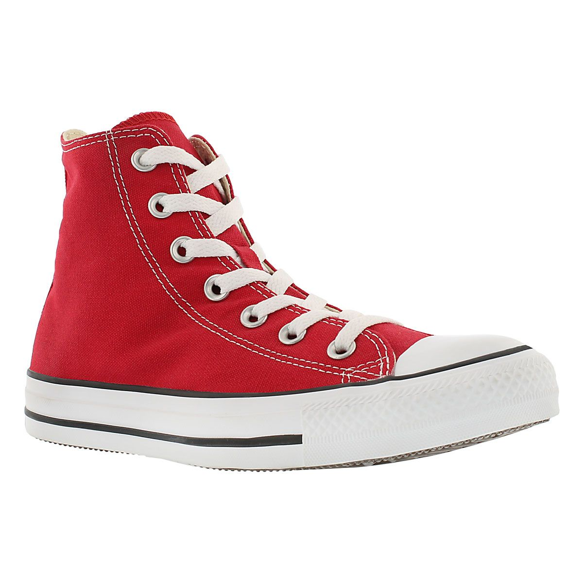 Converse Women's CHUCK TAYLOR CORE HI red sneakers M9621