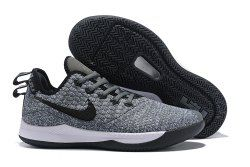 b84d93b6aa9be New style Nike Lebron Witness 3 Grey Black Men's Basketball Shoes in ...