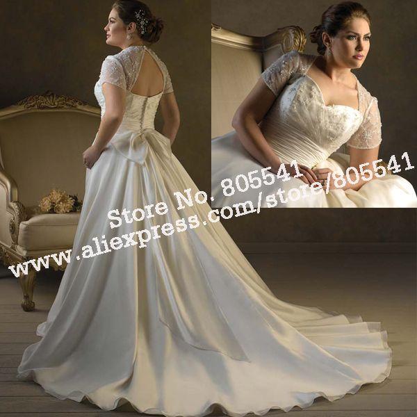 Unique Plus Size Wedding Dresses | ... Plus Size Wedding Gown ...