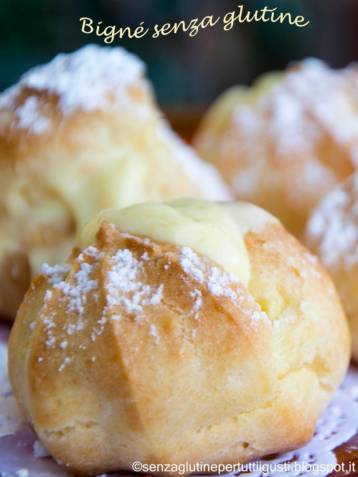 Senza glutine...per tutti i gusti!: Pasta Choux senza glutine con ...