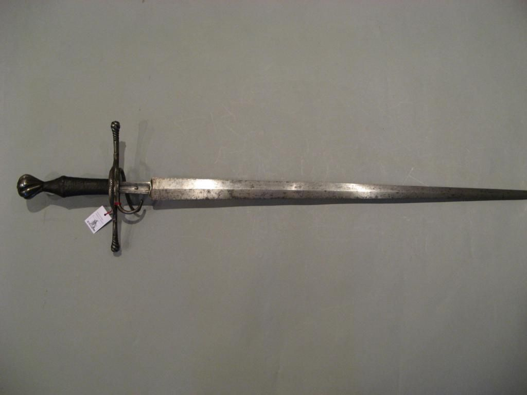 Reitschwert Riding Sword Probably Mid To Late 1500s