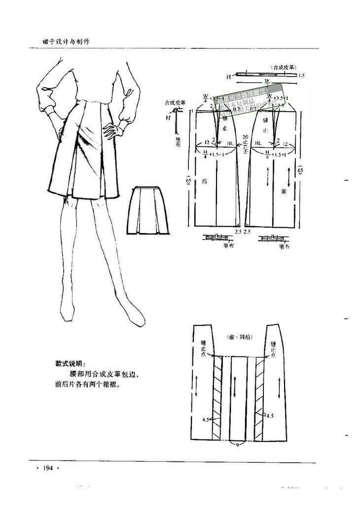 Skirt pattern | alta costura | Pinterest | Falda, Patrones y ...