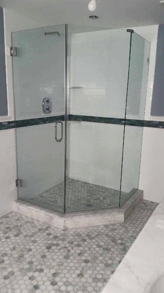 Half Hexagon Shower Enclosure | Shower Enclosures | Pinterest ...