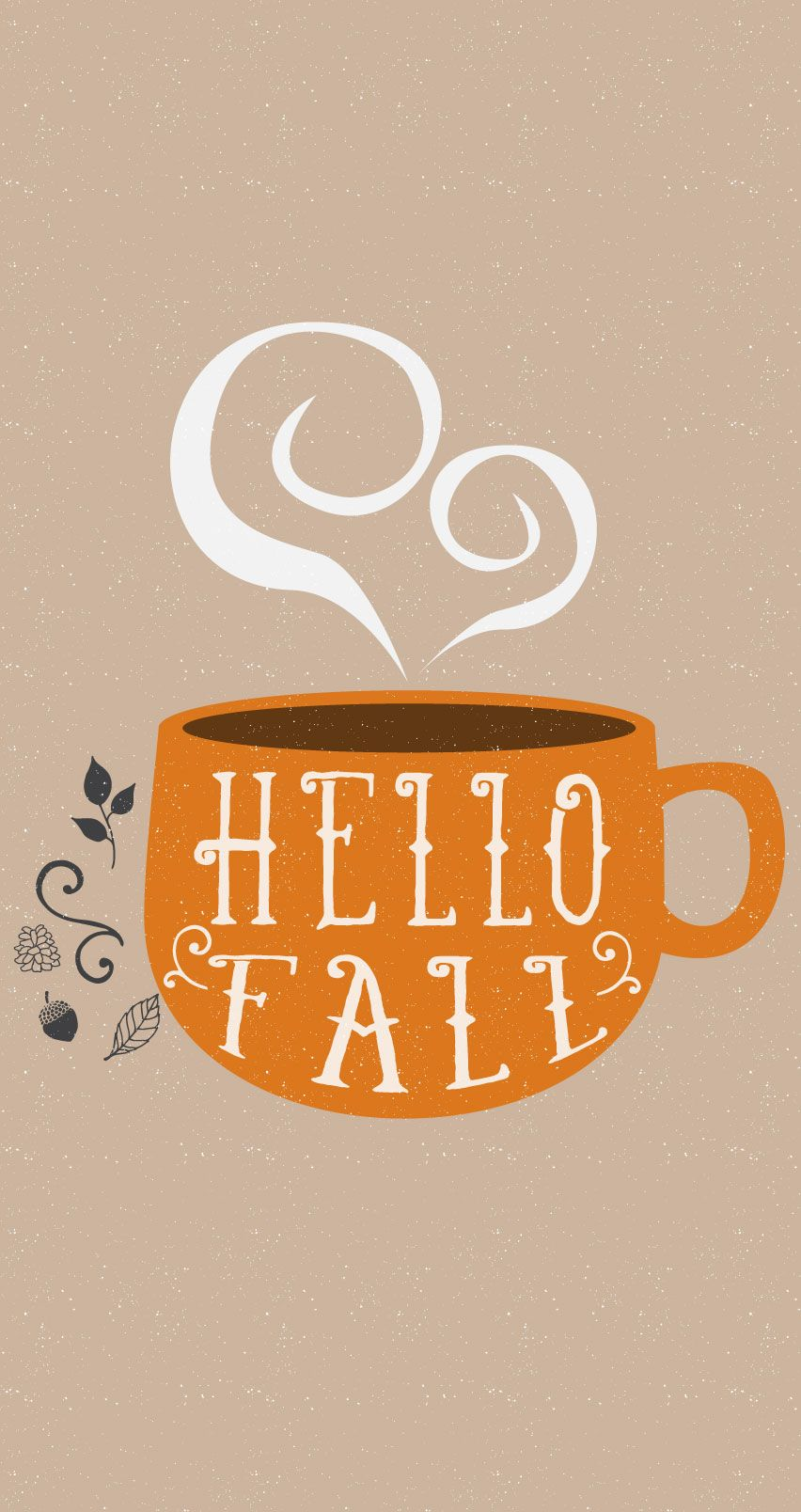 Hello Fall, Weu0027re So Glad Youu0027re Here // Fall Autumn Graphic.