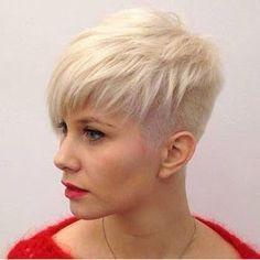 Freche Kurzhaarfrisuren Damen Trend 2017 Short Hair Styles And