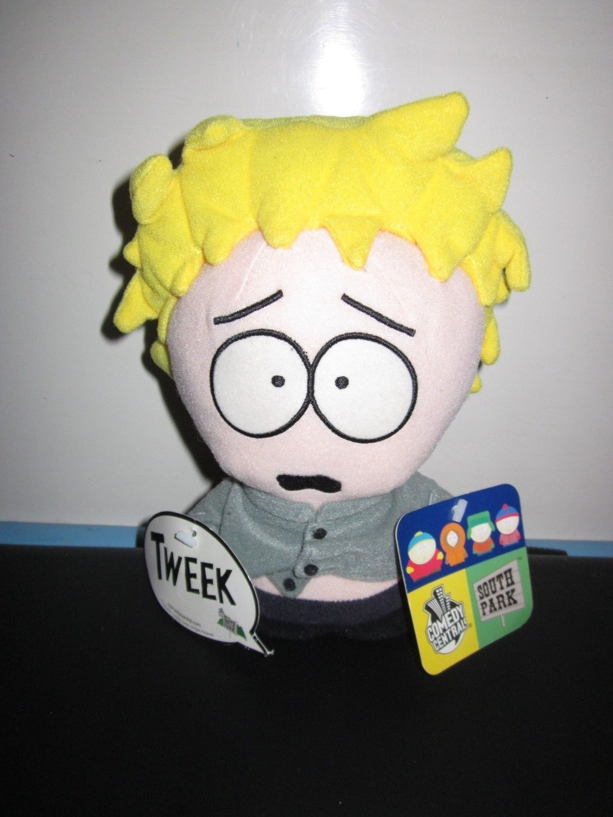 Rare South Park Shaking Tweek Plush Toy Doll Figure Fun