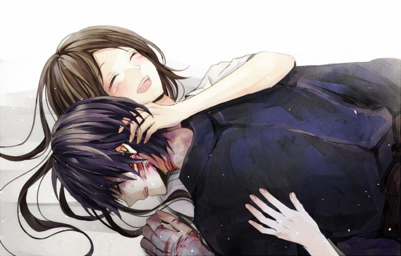 Yato and Hiyori // Noragami