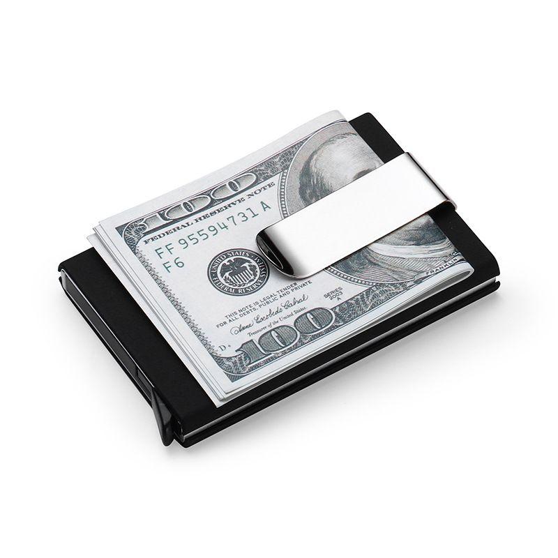 High QualitId Men\'s Wallets Credit card holder Automatic card sets ...