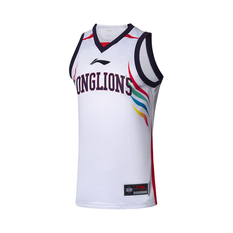 272fd2ea Lining 2018-2019 CBA Guangzhou Long Lions Team Basketball Home ...