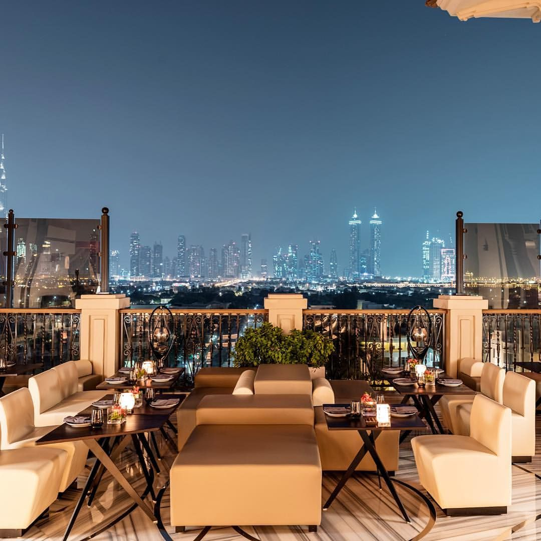 Mercury Lounge Four Seasons Jumeirah Beach Dubai Panoramic