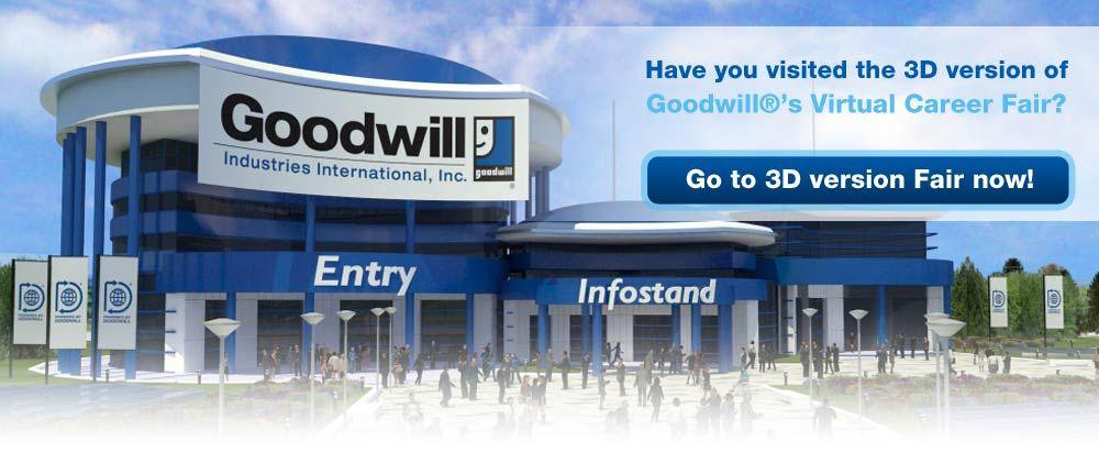 Goodwill's Virtual Career Fair Job seeker, Virtual