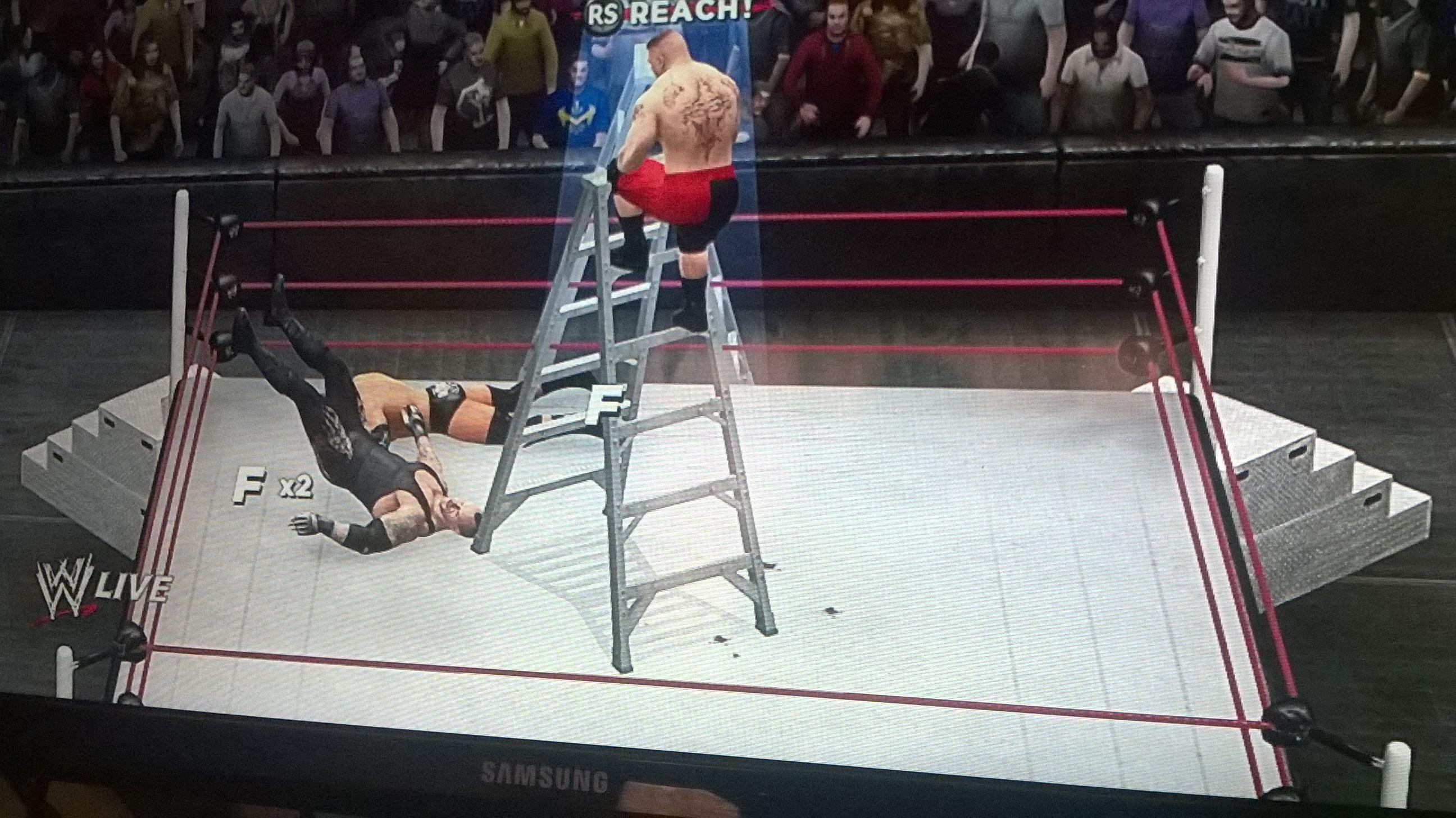 2K wrestling games suck