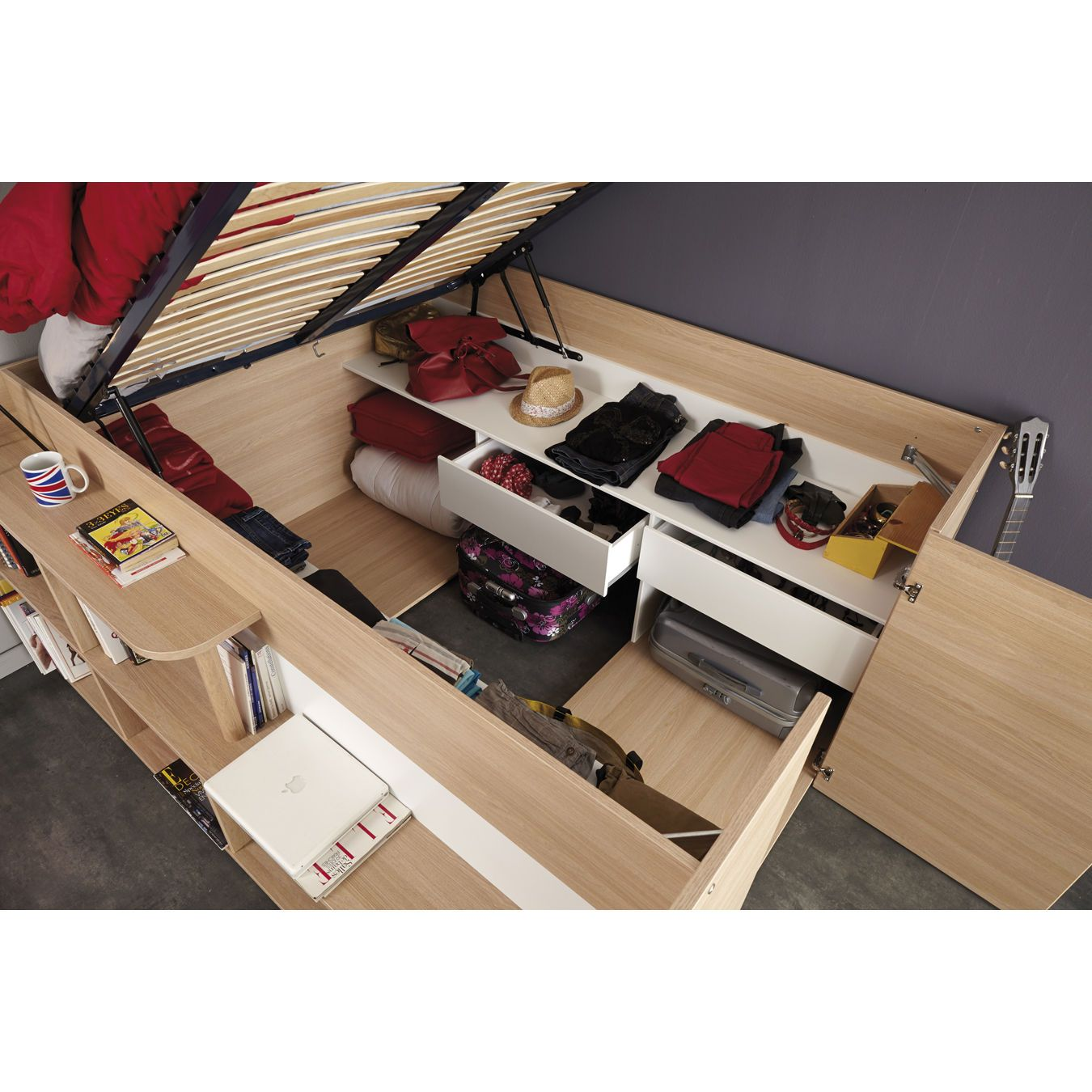 Parisot Space Up Bed Up To OFF RRP Next Day Select Day - Parisot bedroom furniture