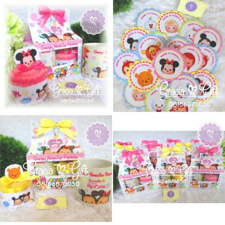 Do you love tsum tsum? Here ..souvenir birthday hampers