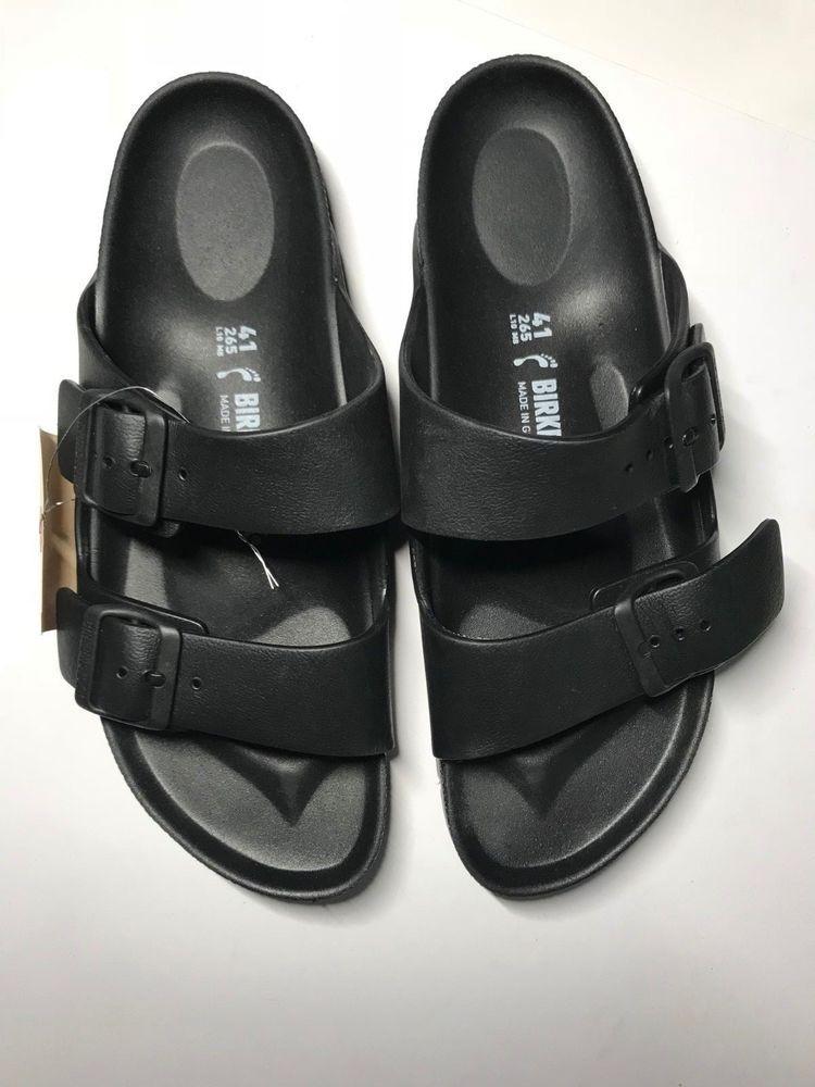 9930326fabc  149 New Birkenstock Unisex Sandals 265 Womens 10 Mens 8 EU 41 Black  710   fashion  clothing  shoes  accessories  womensshoes  sandals (ebay link)