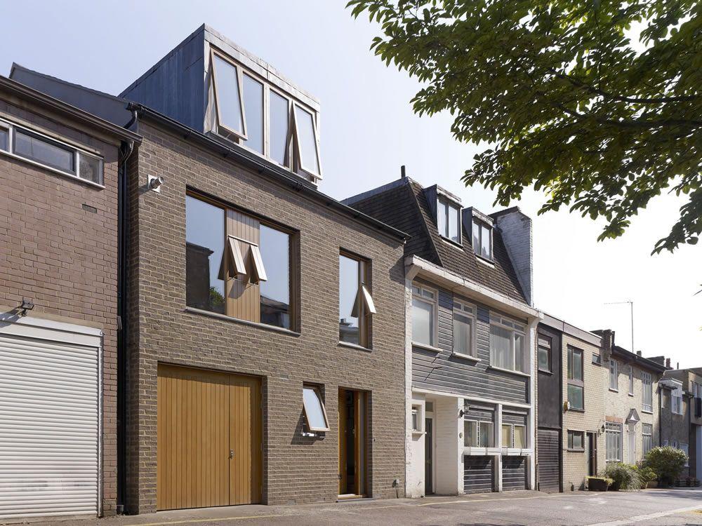 holland park mews house prewett bizley architects - Mews House Design