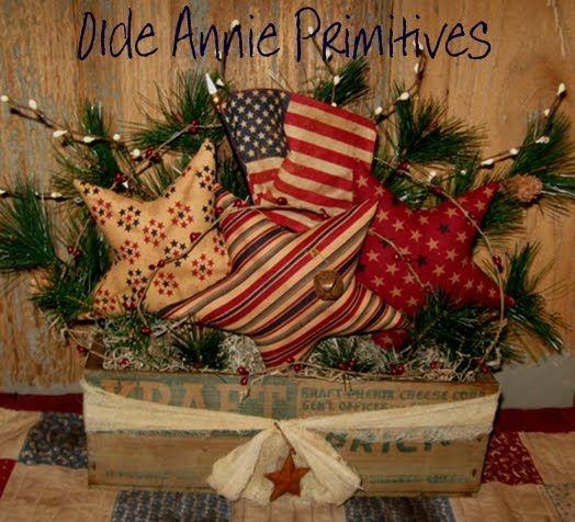 Olde Annie Primitives stars Pinterest Primitives, Annie and