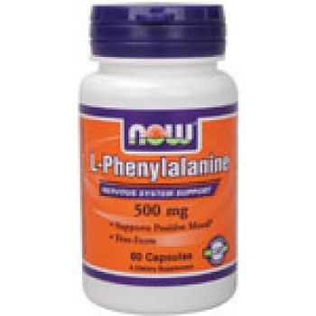 Незаменима аминокиселина Now - L-Phenylalanine 500 мг - 60 капсу | Аминокиселини NOW | MaxLife