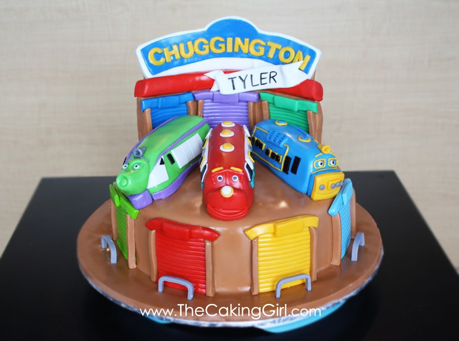 TheCakingGirl Chuggington Cake Wilson Brewster and Koko