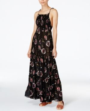 a10d24af7d5 Free People Garden Party Maxi Dress - Black XS | Products | Dresses ...