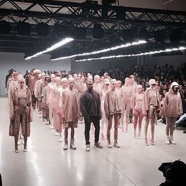 The First Instagrams From Kanye West S Yeezy Season 2 Show Are Here Yeezy Season 2 Yeezy Season Yeezy Fashion Show
