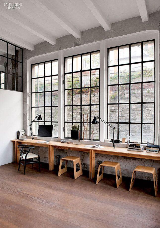 Inspired Materials :: Steel Frame Windows | Workspace design ...