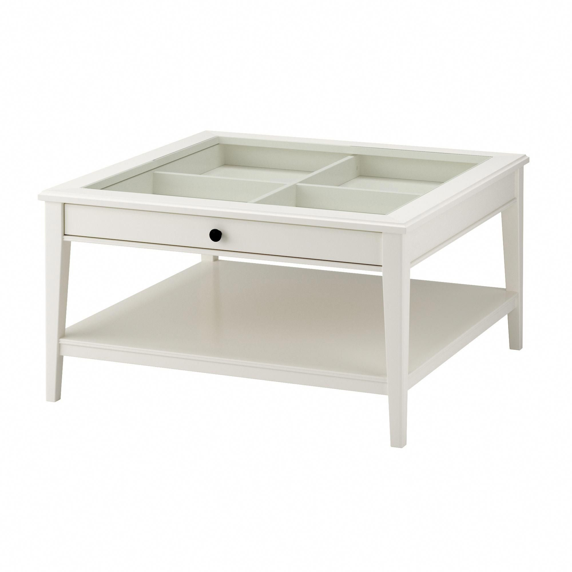 Liatorp Coffee Table White Glass Ikea Homedecorationtable