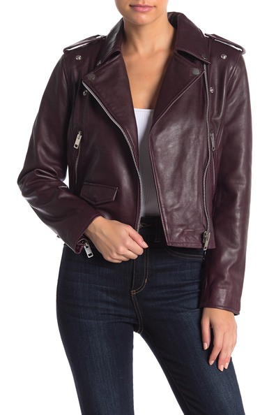 Women's Leather & Faux Leather Coats & Jackets Nordstrom