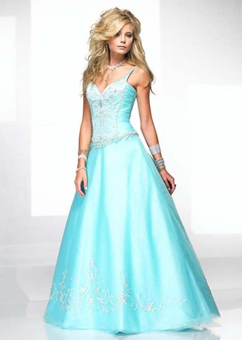 Prom Dresses Blue Long - Ocodea.com