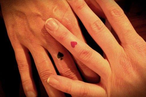 Cute And Discreet Finger Tattoos Designs Vegas Tattoo Matching