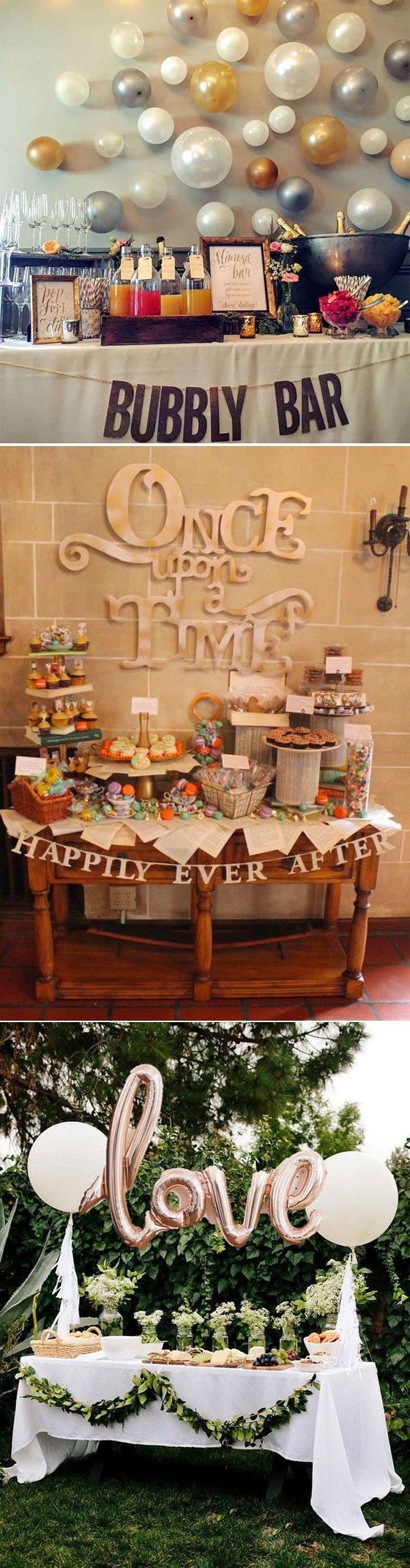 20 engagement party decoration ideas engagement bridal showers