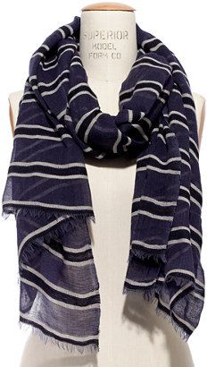Madewell Sheerstripe Scarf on shopstyle.com
